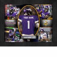 Minnesota Vikings Personalized Framed Action Collage