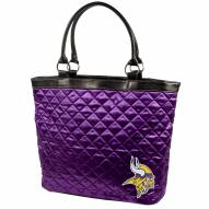 Minnesota Vikings Quilted Tote Bag