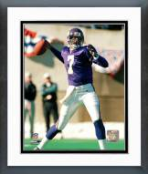 Minnesota Vikings Randall Cunningham Action Framed Photo