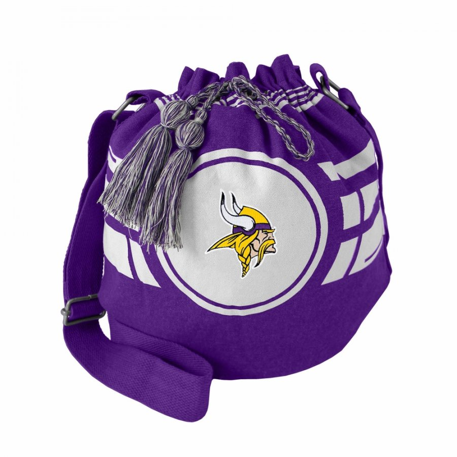 Minnesota Vikings Ripple Drawstring Bucket Bag
