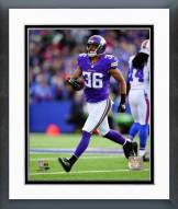 Minnesota Vikings Robert Blanton 2014 Action Framed Photo