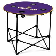 Minnesota Vikings Round Folding Table