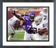 Minnesota Vikings Sharrif Floyd 2014 Action Framed Photo