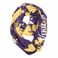 Minnesota Vikings Silky Infinity Scarf