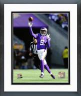 Minnesota Vikings Teddy Bridgewater 2014 Action Framed Photo