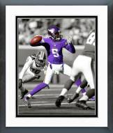 Minnesota Vikings Teddy Bridgewater 2014 Spotlight Action Framed Photo