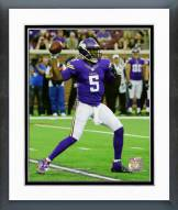 Minnesota Vikings Teddy Bridgewater 2015 Action Framed Photo