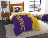Minnesota Vikings Twin Comforter & Sham Set