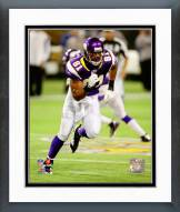 Minnesota Vikings Visanthe Shiancoe 2008 Action Framed Photo