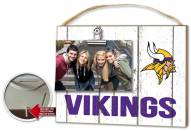 Minnesota Vikings Weathered Logo Photo Frame