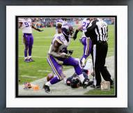 Minnesota Vikings Xavier Rhodes 2014 Action Framed Photo