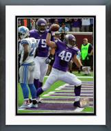 Minnesota Vikings Zach Line 2015 Action Framed Photo