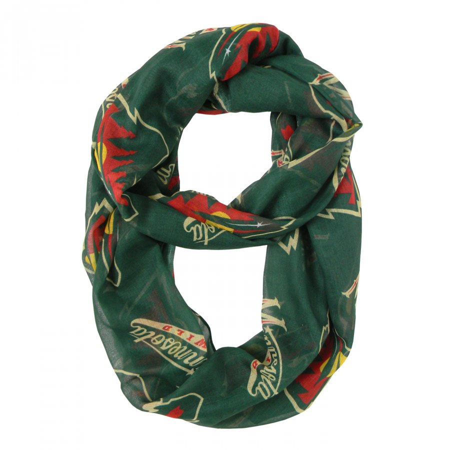 Minnesota Wild Alternate Sheer Infinity Scarf
