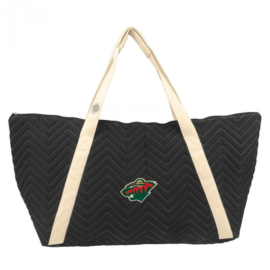 Minnesota Wild Chevron Stitch Weekender Bag