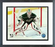 Minnesota Wild Devan Dubnyk 2014-15 Action Framed Photo