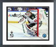 Minnesota Wild Devan Dubnyk 2014-15 Playoff Action Framed Photo