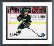 Minnesota Wild Jason Zucker 2014-15 Action Framed Photo
