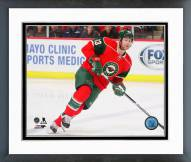 Minnesota Wild Jordan Leopold 2014-15 Action Framed Photo