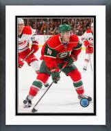 Minnesota Wild Jordan Schroeder 2014-15 Action Framed Photo