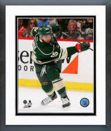 Minnesota Wild Matthew Dumba 2014-15 Action Framed Photo