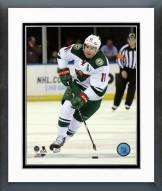 Minnesota Wild Zach Parise 2014-15 Action Framed Photo