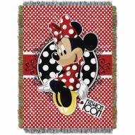 Minnie Bowtique Throw Blanket