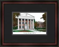 University of Mississippi Academic Framed Lithograph