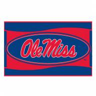 Mississippi Rebels NCAA Welcome Mat