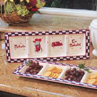 Mississippi Ole Miss Rebels NCAA Ceramic Relish Tray