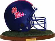 Mississippi Ole Miss Rebels Replica Football Helmet Figurine