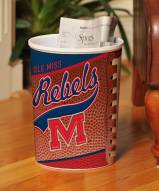 Mississippi Ole Miss Rebels Trash Can