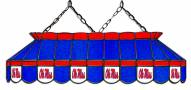 """Mississippi Rebels 40"""" Stained Glass Pool Table Light"""