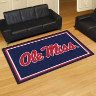Mississippi Rebels 5' x 8' Area Rug