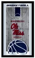 Mississippi Rebels Basketball Mirror