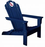 Mississippi Rebels Blue Adirondack Chair