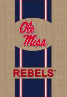 Mississippi Rebels Burlap Garden Flag