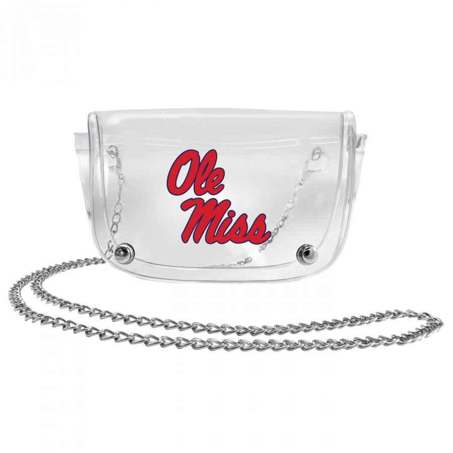 Mississippi Rebels Clear Waistpack
