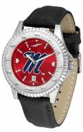 Mississippi Rebels Competitor AnoChrome Men's Watch