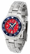 Mississippi Rebels Competitor Steel AnoChrome Women's Watch - Color Bezel