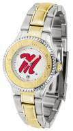Mississippi Rebels Competitor Two-Tone Women's Watch
