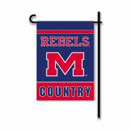 Mississippi Rebels Country Garden Flag