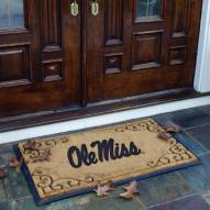 Mississippi Rebels Door Mat