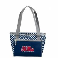 Mississippi Rebels Double Diamond Cooler Tote