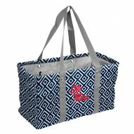 Mississippi Rebels Double Diamond Picnic Caddy