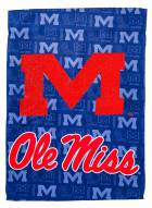Mississippi Rebels Double Sided Glitter Garden Flag
