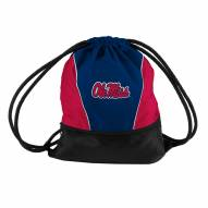 Mississippi Rebels Drawstring Bag