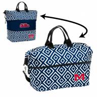Mississippi Rebels Expandable Tote Bag