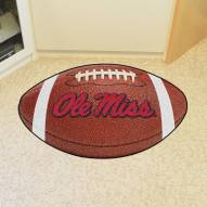 Mississippi Rebels Football Floor Mat