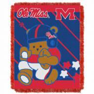 Mississippi Rebels Fullback Baby Blanket