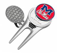 Mississippi Rebels Golf Cap Divot Tool